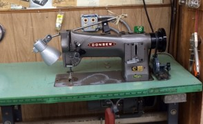 One of Our Industrial Sewing Machines