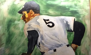 """Joe DiMaggio"" by David Sabatini"