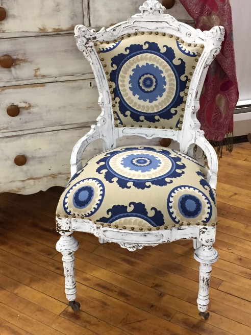 Victorian Chair Update