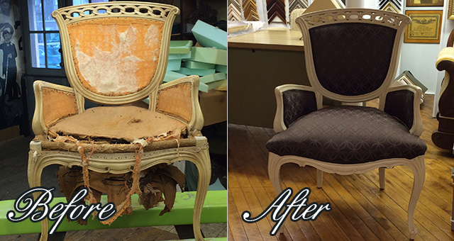 Chairs; Reupholstered Chairs; Reupholstered Chair; Reupholstered Chair ...